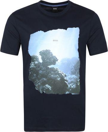 Hugo Boss T-shirt TNoah Donkerblauw