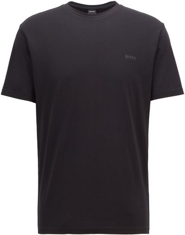 Hugo Boss T-shirt Trust Zwart