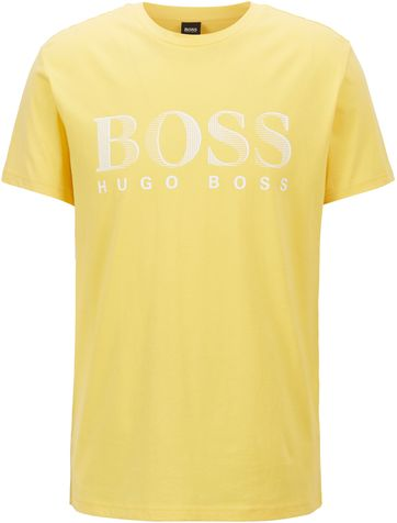 Hugo Boss T-shirt UV-Protection Geel