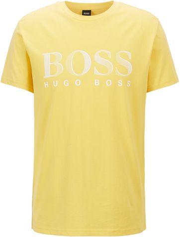 Hugo Boss T Shirt UV-Protection Gelb