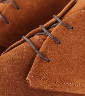 Detail Humberto Boot Suede Cognac