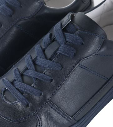 Detail Humberto Sneaker Enzio Blauw