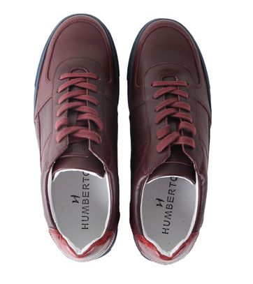 Detail Humberto Sneaker Enzio Bordeaux