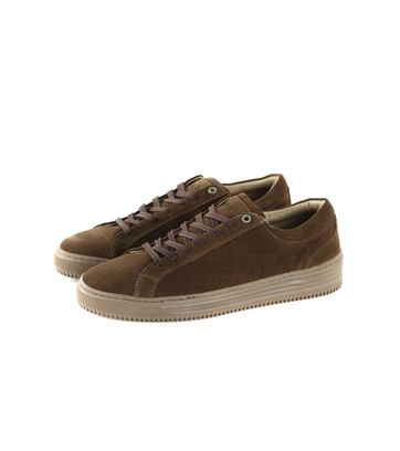 Humberto Sneaker Groen Suede