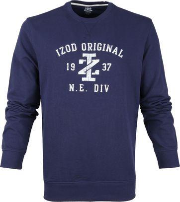 IZOD Casual Sweater Donkerblauw