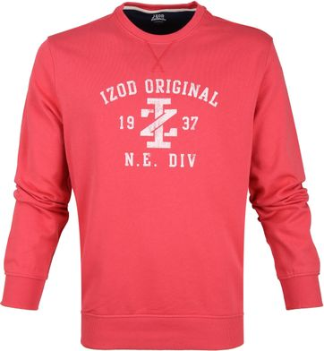 IZOD Casual Sweater Rood