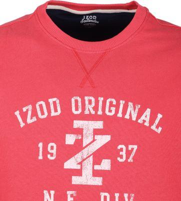 IZOD Casual Sweater Rood