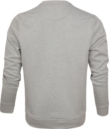 IZOD Fleece Sweater Sport Flex Hellgrau