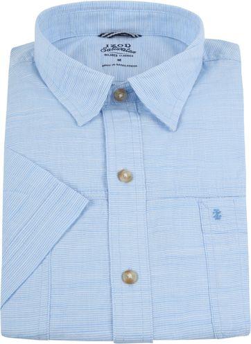 IZOD Overhemd Strepen Blauw