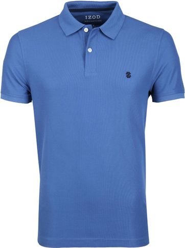 IZOD Performance Polo Blauw