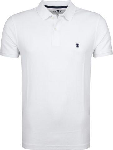 IZOD Performance Poloshirt Weiß