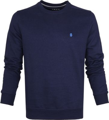 IZOD Solid Fleece Sweater Dunkelblau