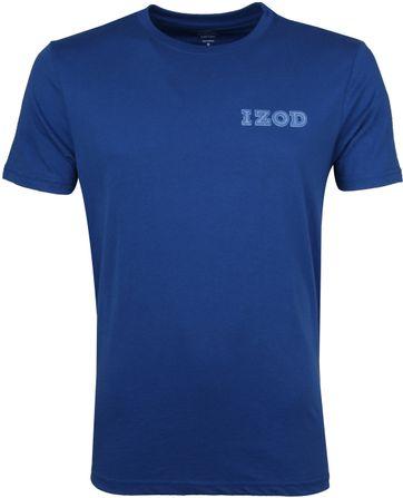 IZOD T-shirt Basic Tee Blau