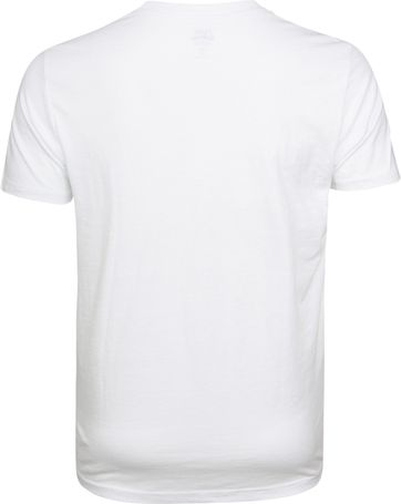 IZOD T-shirt Basic Tee Weiß