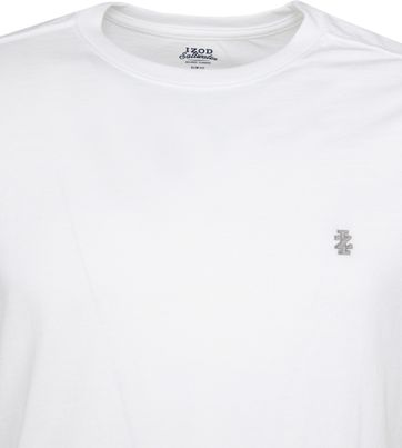 IZOD T-shirt Basic Tee Wit
