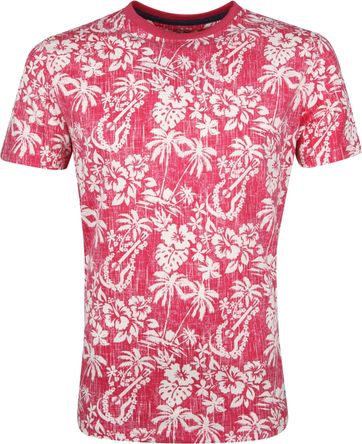 IZOD T-Shirt Flowers Pink
