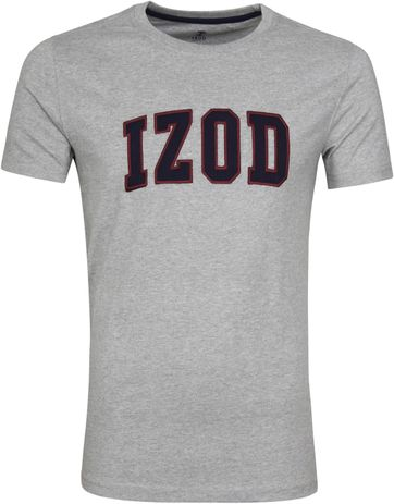IZOD T-shirt Logo Tee Grey 00045EK183-052 order online | Suitable