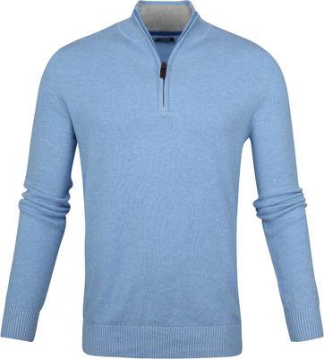 IZOD Zip Sweater Blau