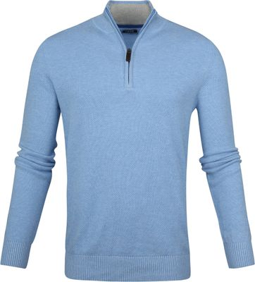 IZOD Zip Sweater Blue