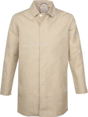 Knowledge Cotton Apparel Carcoat Beige