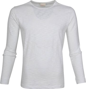 Knowledge Cotton Apparel LS T-shirt Weiß