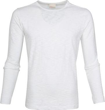 Knowledge Cotton Apparel LS T-shirt Wit