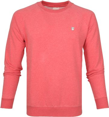 Knowledge Cotton Apparel Pullover Pink