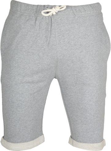 Knowledge Cotton Apparel Short Melange Grau