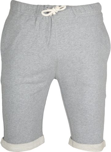 Knowledge Cotton Apparel Short Melange Grey