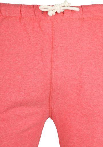 Knowledge Cotton Apparel Short Melange Rood