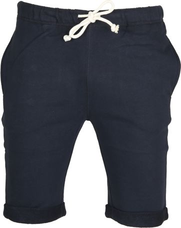 Knowledge Cotton Apparel Short Uni Navy