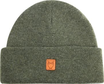 KnowledgeCotton Apparel Beanie Green