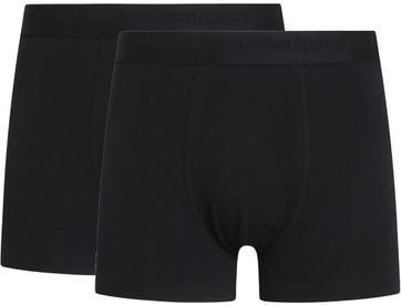 KnowledgeCotton Apparel Boxer Shorts Maple 2-Pack Black