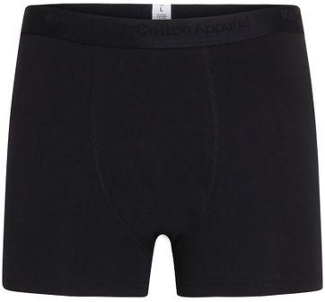 KnowledgeCotton Apparel Boxershorts Maple 3-Pack Zwart