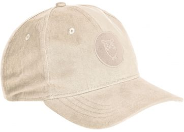 KnowledgeCotton Apparel Cap Pacific Beige