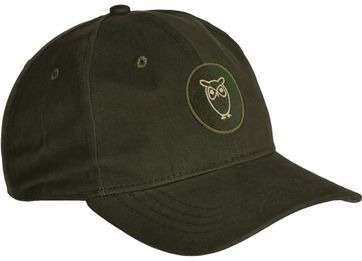 KnowledgeCotton Apparel Cap Pacific Dark Green