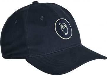 KnowledgeCotton Apparel Cap Pacific Navy