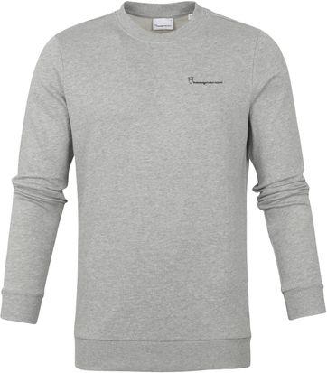 KnowledgeCotton Apparel Elm Sweater Grau