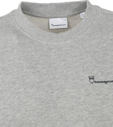 KnowledgeCotton Apparel Elm Sweater Grey