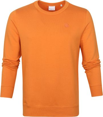 KnowledgeCotton Apparel Elm Sweater Orange
