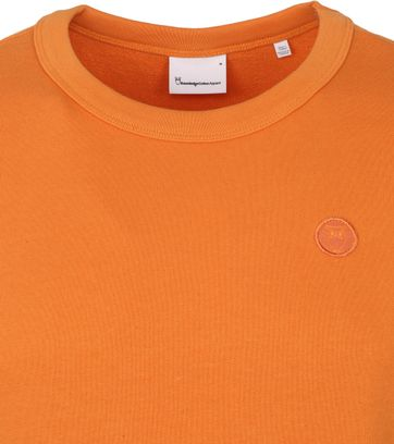 KnowledgeCotton Apparel Elm Sweater Orange