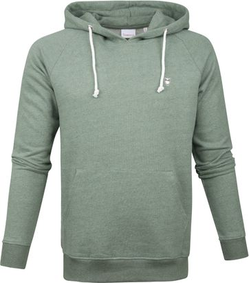 KnowledgeCotton Apparel Hoodie Green