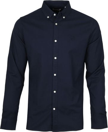 KnowledgeCotton Apparel Navy Shirt