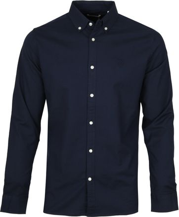 KnowledgeCotton Apparel Navy Shirt
