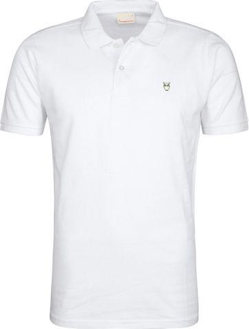 KnowledgeCotton Apparel Poloshirt White