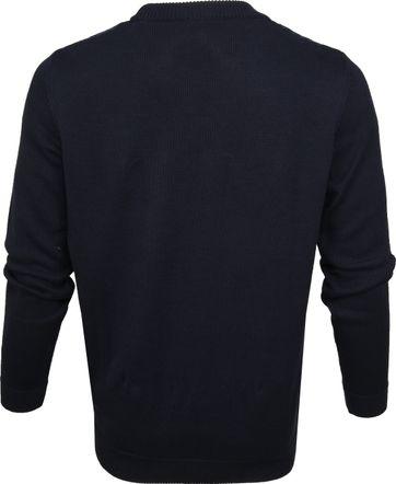 KnowledgeCotton Apparel Pullover Dessin Navy