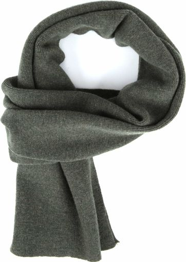 KnowledgeCotton Apparel Scarf Dark Green