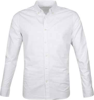 KnowledgeCotton Apparel Shirt White