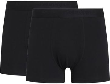 KnowledgeCotton Apparel Shorts Maple 2-Pack Schwarz