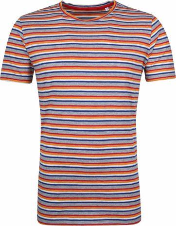 KnowledgeCotton Apparel T-shirt Alder Streifen